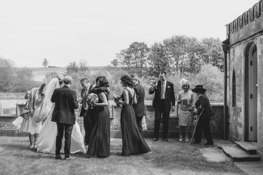 Fort Henry wedding Barnsdale Lodge wedding