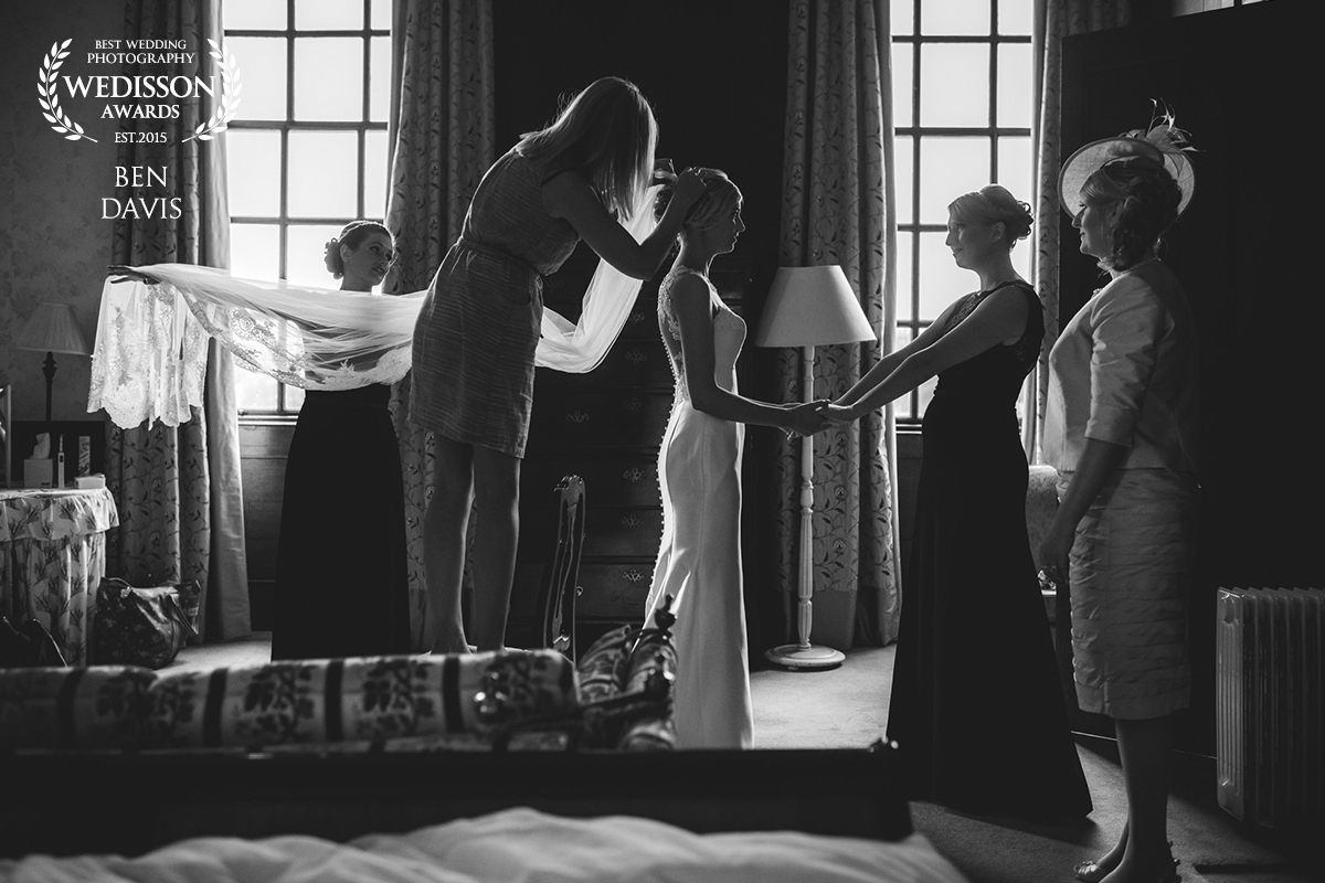Cambridgeshire wedding photographer Ben Davis award winner wedisson