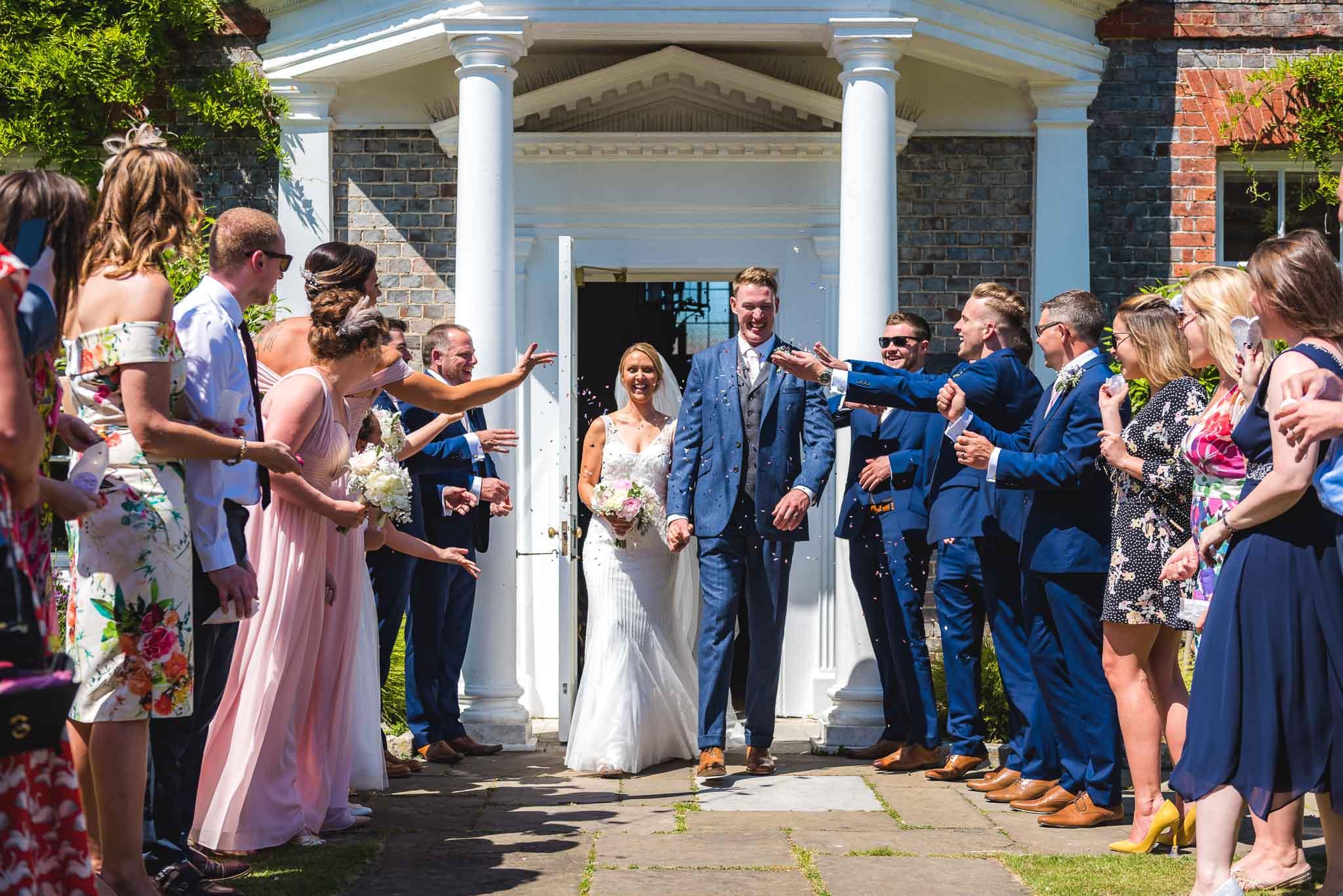 Helen & Tom, Gildredge Manor, Eastbourne – 17th June 2017