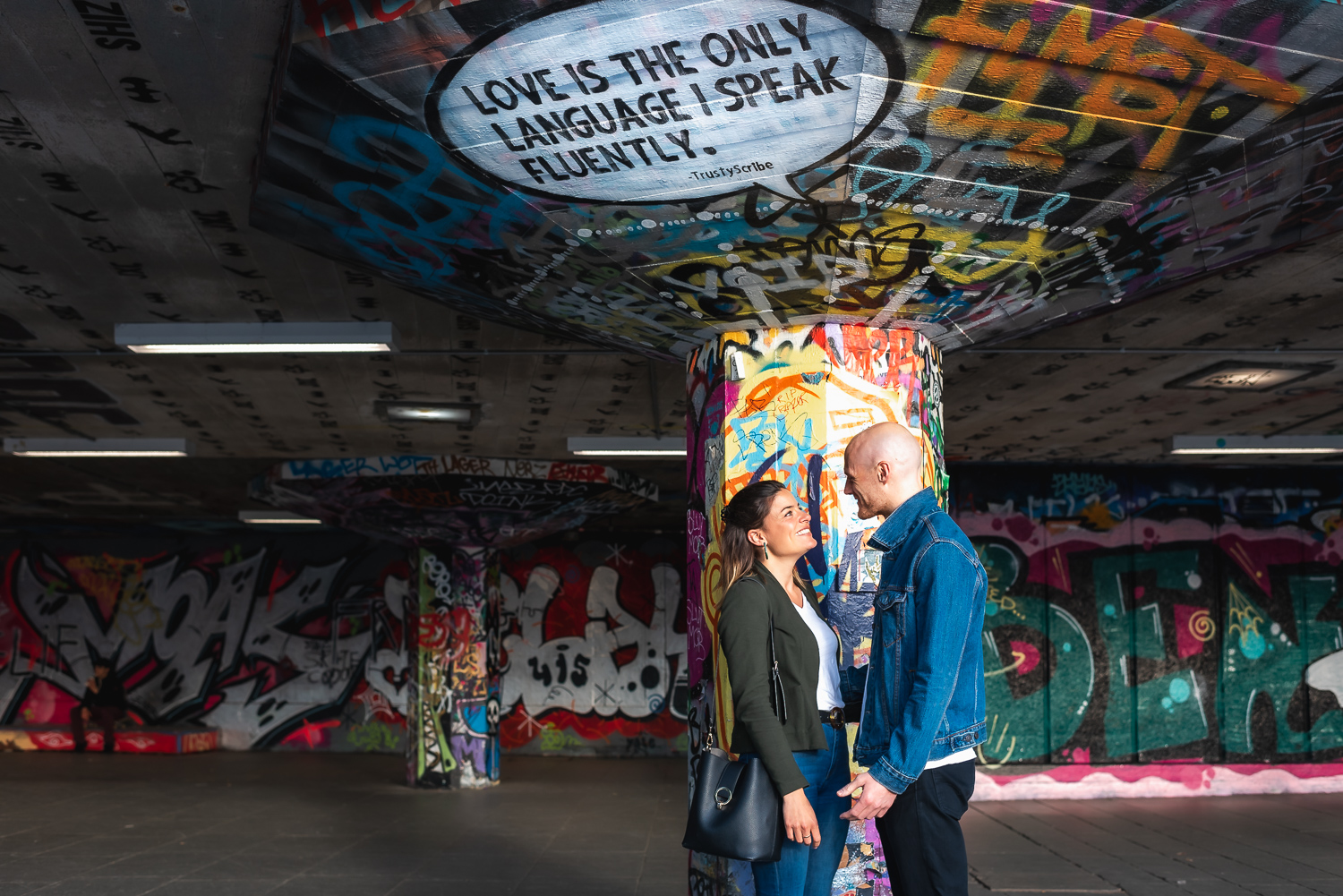 London South Bank engagement shoot – Kate & Dom