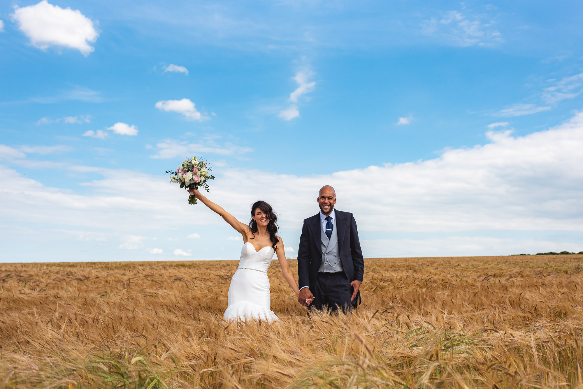 Sussex Barn Burnham Market wedding – Samantha & Matt