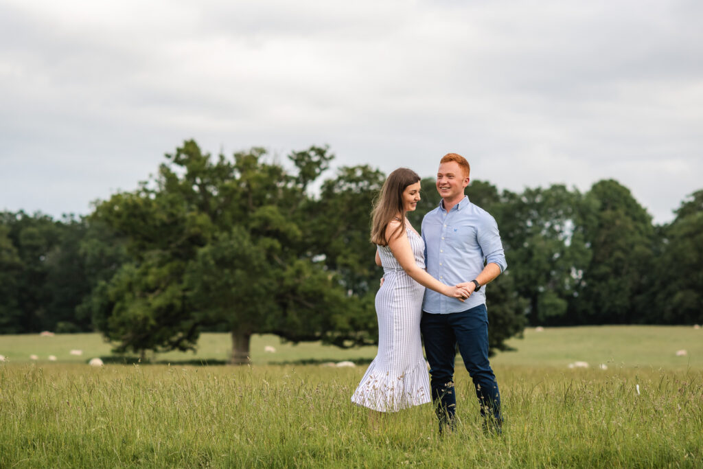 Burghley House pre-wedding shoot