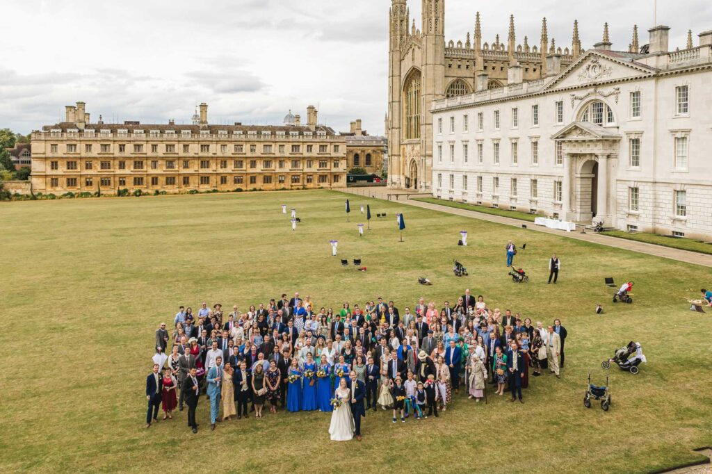 King's college wedding