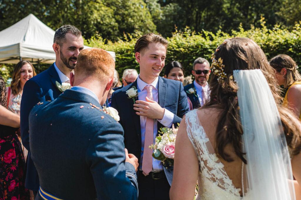 william cecil stamford wedding